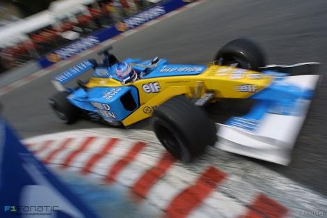 Jenson Button, Renault, Spa-Francorchamps, 2002