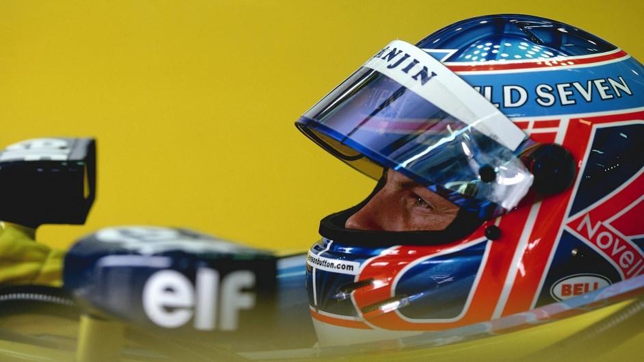 Jenson Button, Renault, Hungaroring, 2002