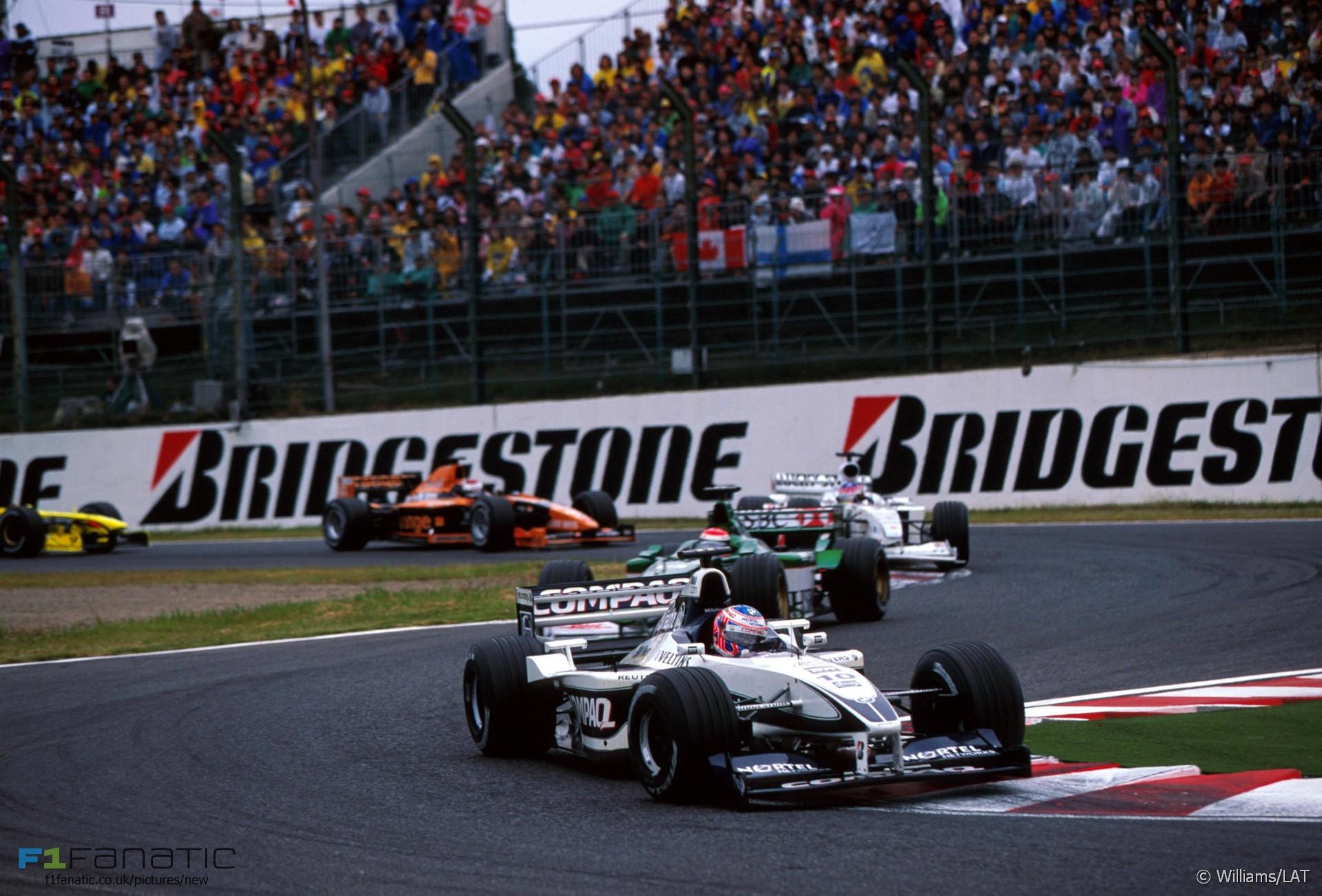 Jenson Button, Williams, Melbourne, 2000