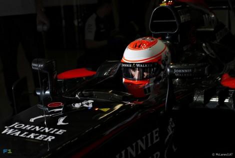 Jenson Button, McLaren, Suzuka, 2015