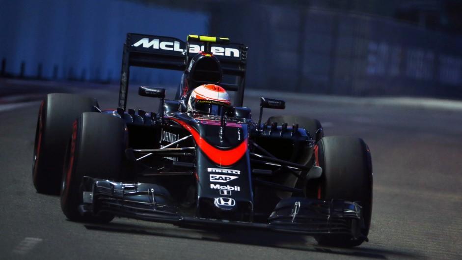 Maldonado 'tried to drive me off the track' – Button