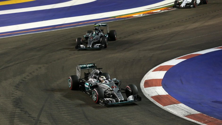 Hamilton believes he was poised to take on leaders