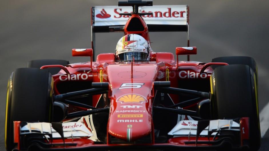 2015 Singapore Grand Prix grid
