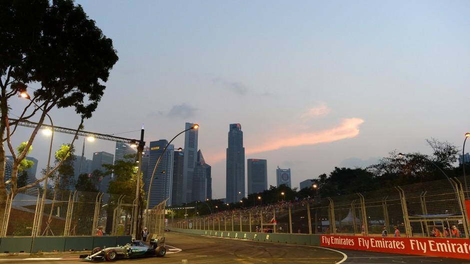 Cloud seeding not behind Singapore's dry F1 weekends
