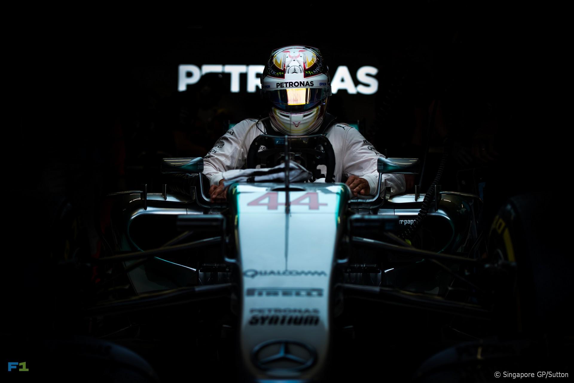 Lewis Hamilton, Mercedes, Singapore, 2015