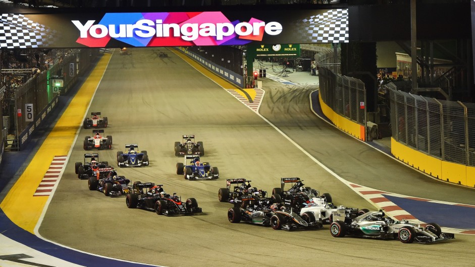 Vote for your 2015 Singapore Grand Prix Driver of the Weekend