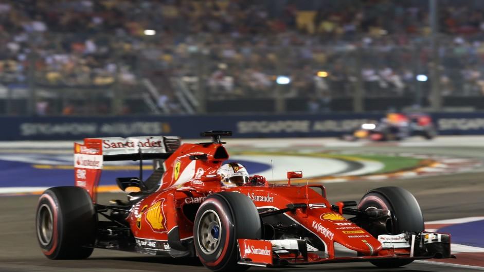 2015 Singapore Grand Prix result