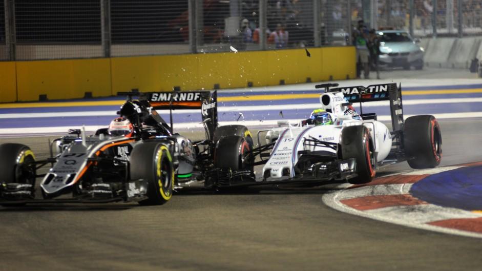 Hulkenberg doesn't understand Massa crash penalty