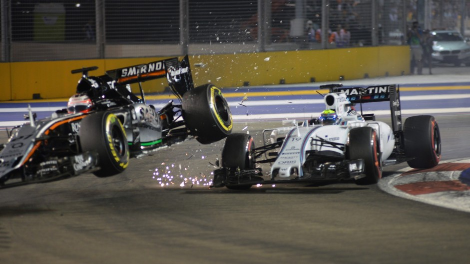 Hulkenberg accepts blame for Massa crash