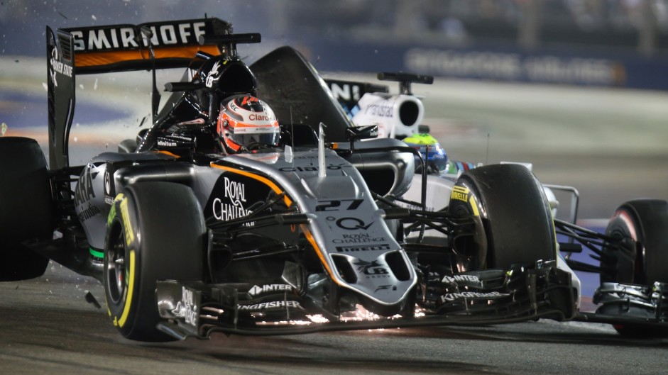 Top ten pictures from the 2015 Singapore Grand Prix
