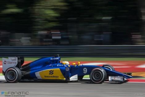 Marcus Ericsson, Sauber, Monza, 2015