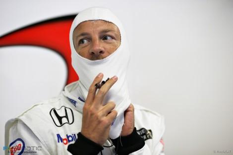 Jenson Button, McLaren, Monza, 2015