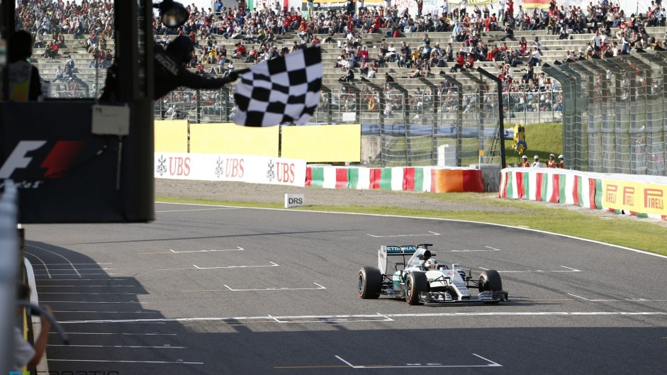 Hamilton disappears from his rivals in Japan