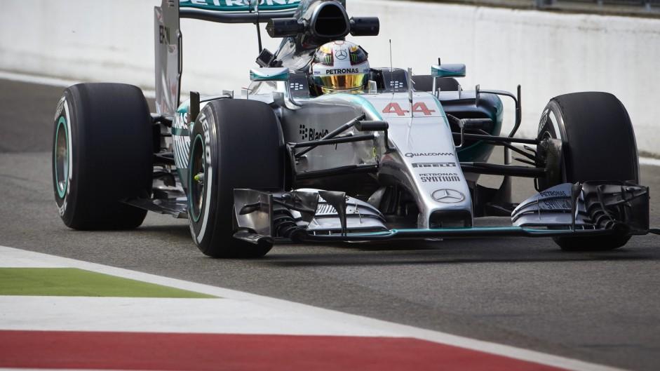 2015 Italian Grand Prix grid