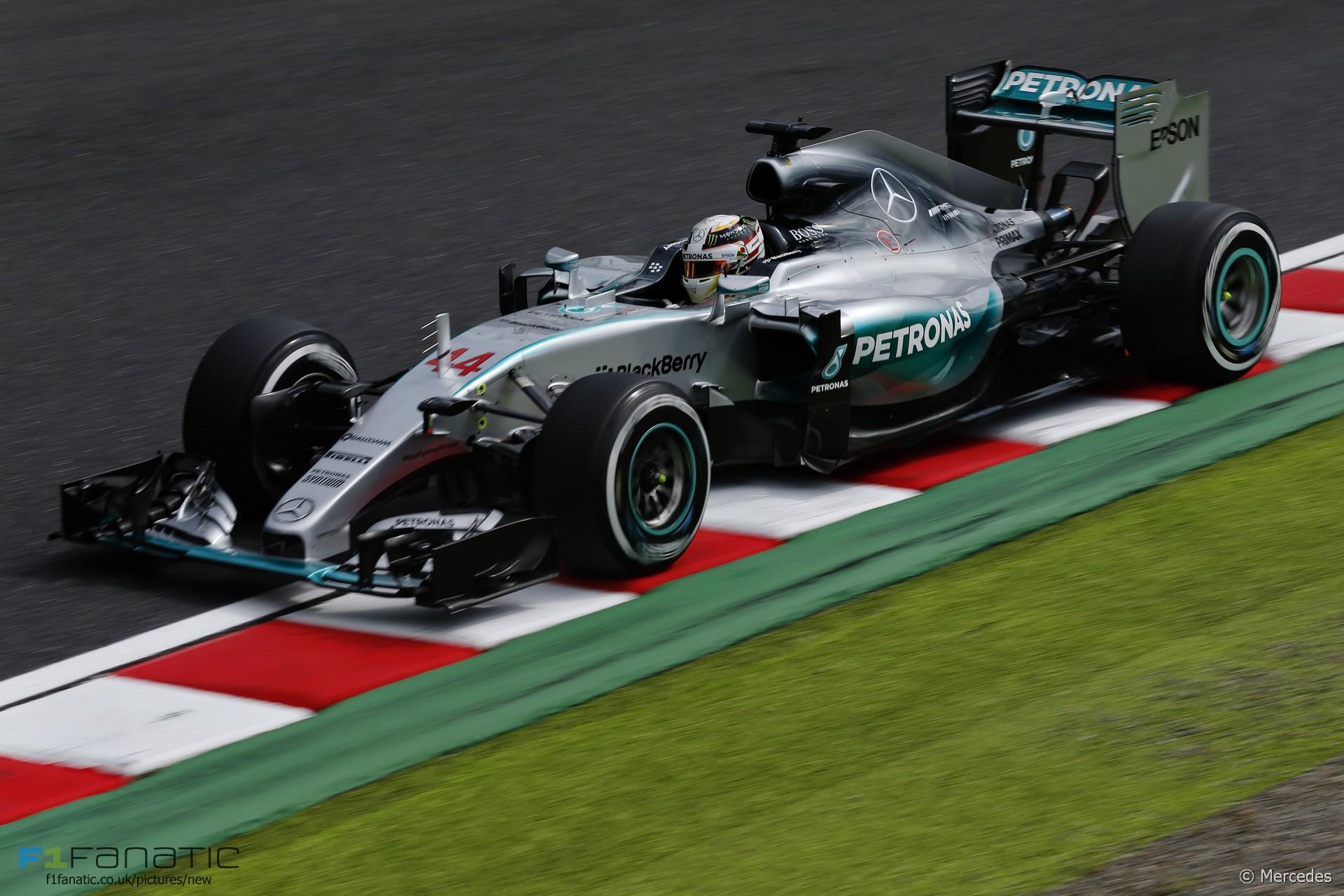 Lewis Hamilton, Mercedes, Suzuka, 2015