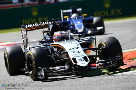 Nico Hulkenberg, Force India, Monza, 2015
