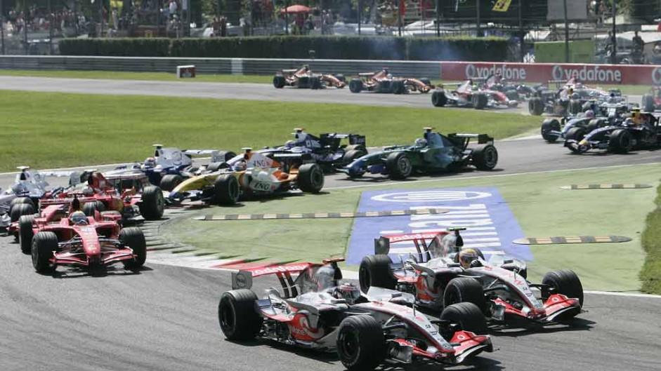 Start, Monza, 2007