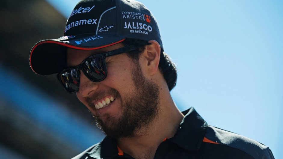 Sergio Perez confirmed at Force India for 2016