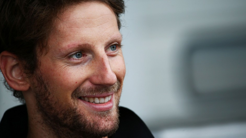 Grosjean joins new team Haas for 2016