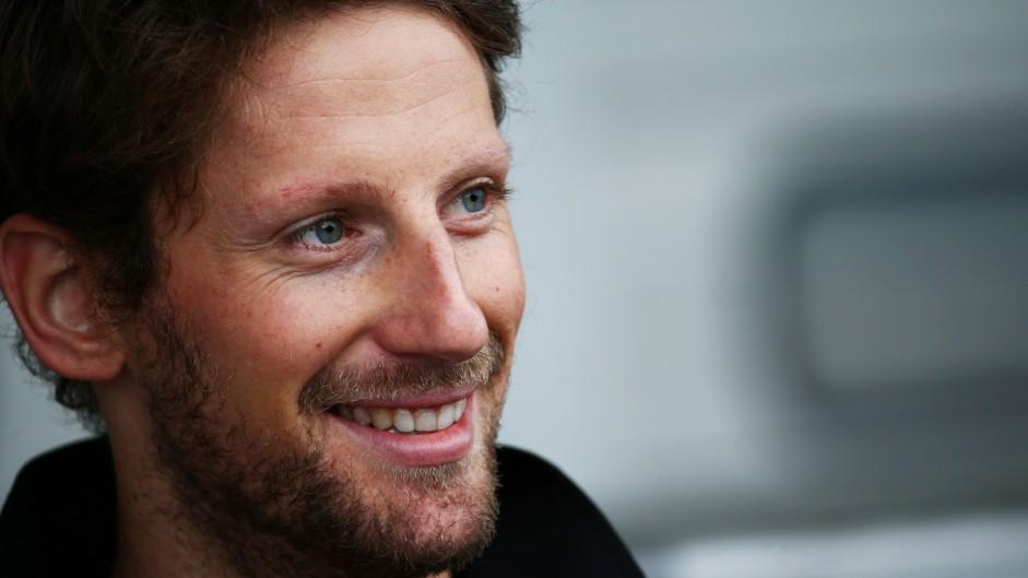 Grosjean joins new team Haas for 2016