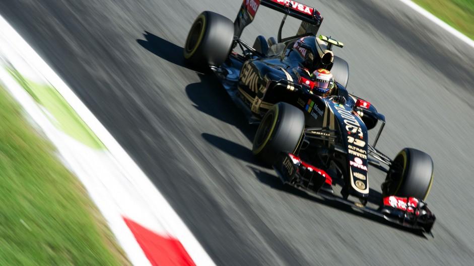 Pastor Maldonado, Lotus, Monza, 2015