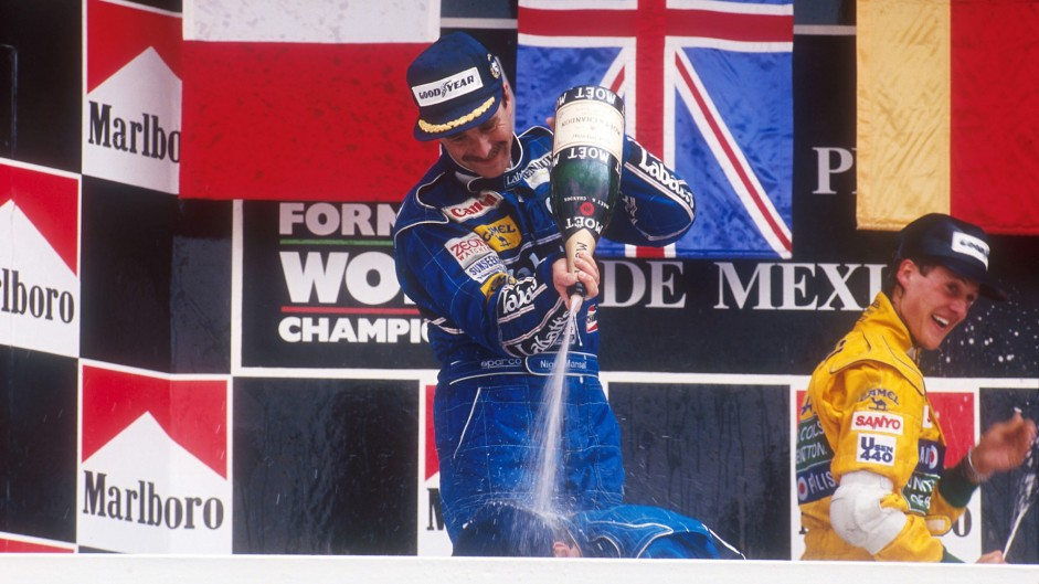 Mexico's Peraltada corner renamed after Nigel Mansell