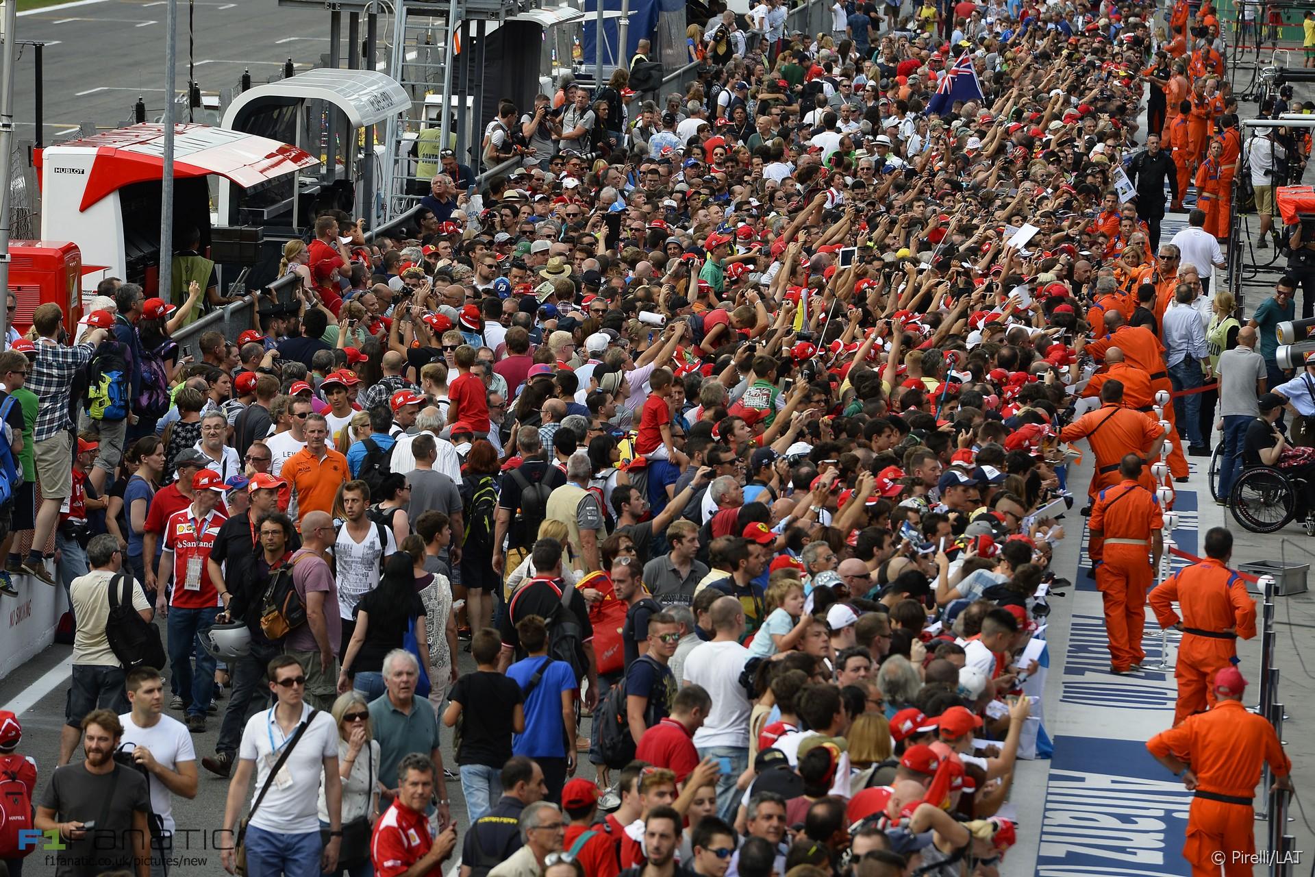 Fans, Monza, 2015