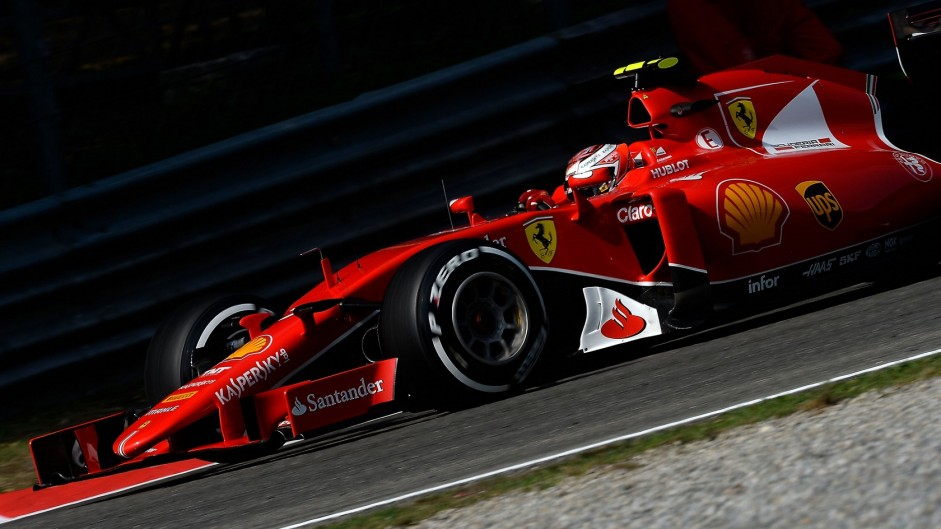 Raikkonen surprised by strong Ferrari performance
