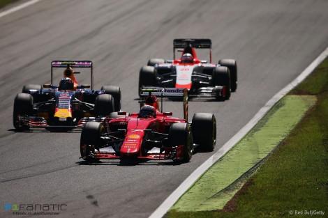 Kimi Raikkonen, Ferrari, Monza, 2015