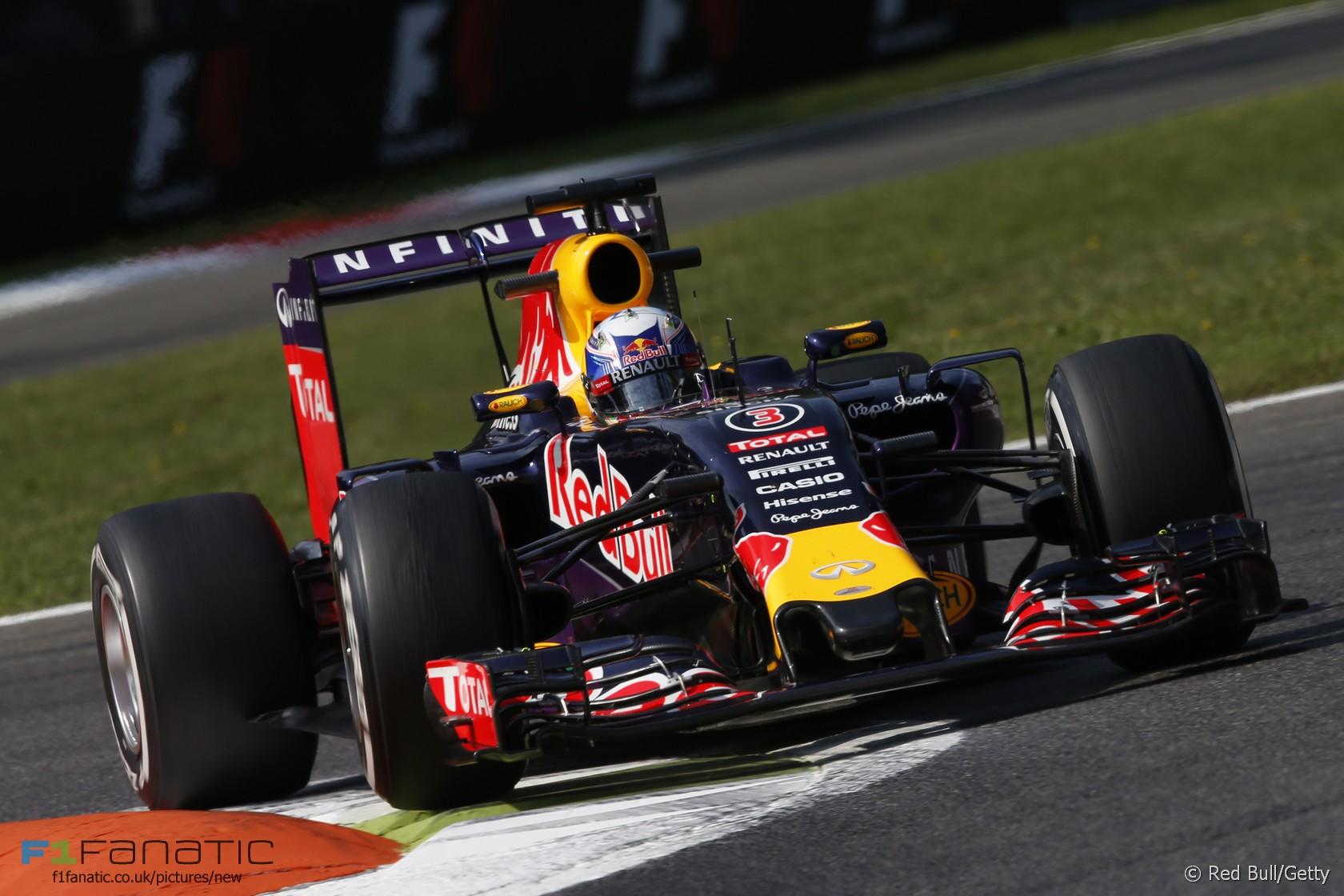 Daniel Ricciardo, Red Bull, Monza, 2015
