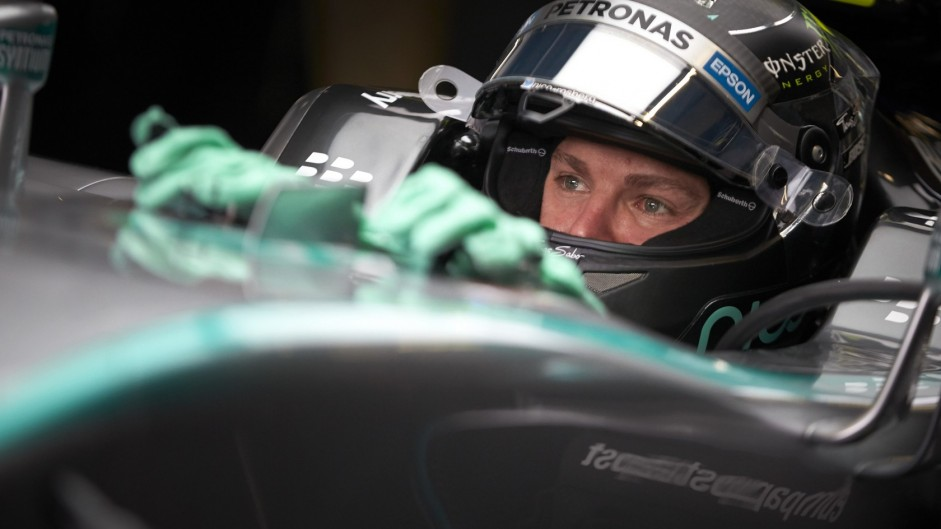 Rosberg laments pre-qualifying engine change