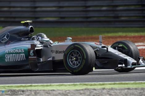 Nico Rosberg, Mercedes, Monza, 2015