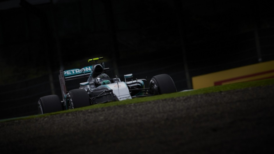Did FOM give Mercedes its 'invisible treatment' in Japan?