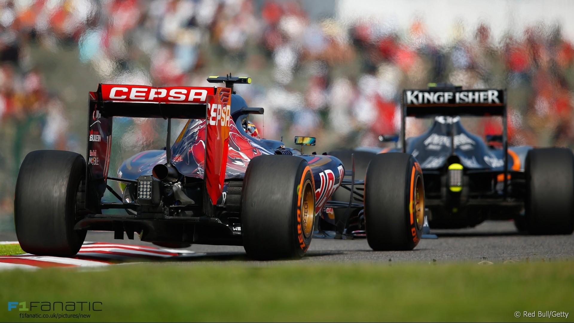 Carlos Sainz Jnr, Toro Rosso, Suzuka, 2015