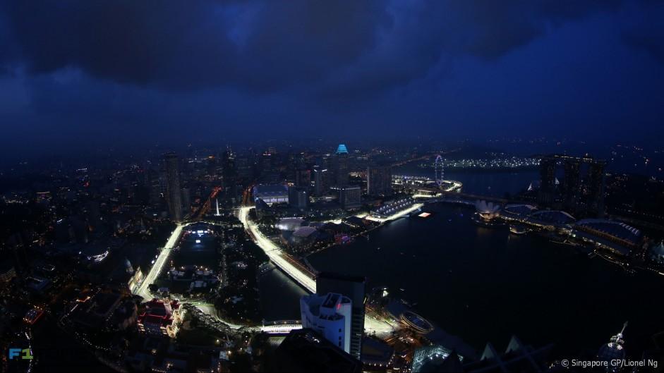 2016 Singapore Grand Prix track preview