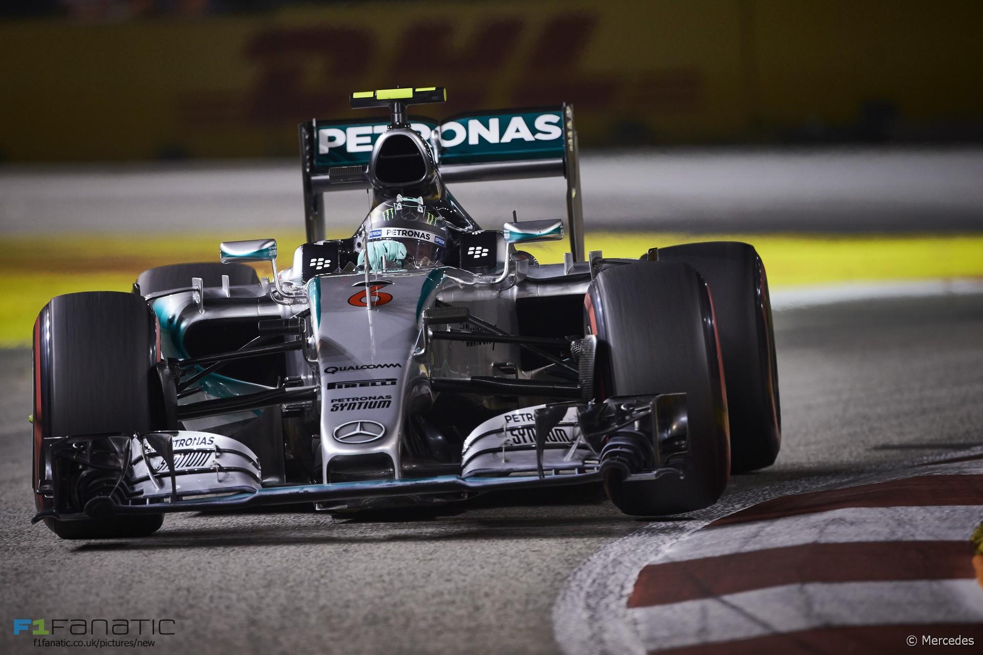 Nico rosberg mercedes singapore 2015 f1 fanatic for Mercedes benz long beach service department