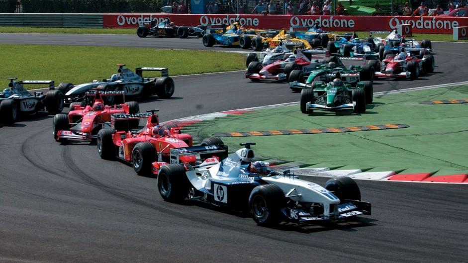 Start, Monza, 2002