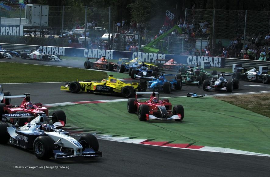 Start, Monza, 2001