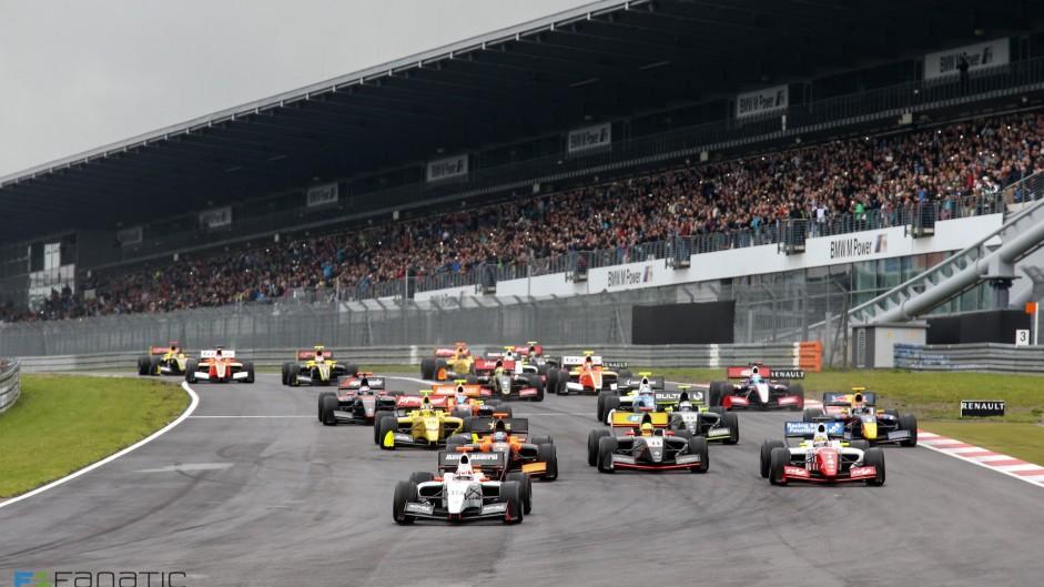 Start, Formula Renault 3.5, Nurburgring, 2015