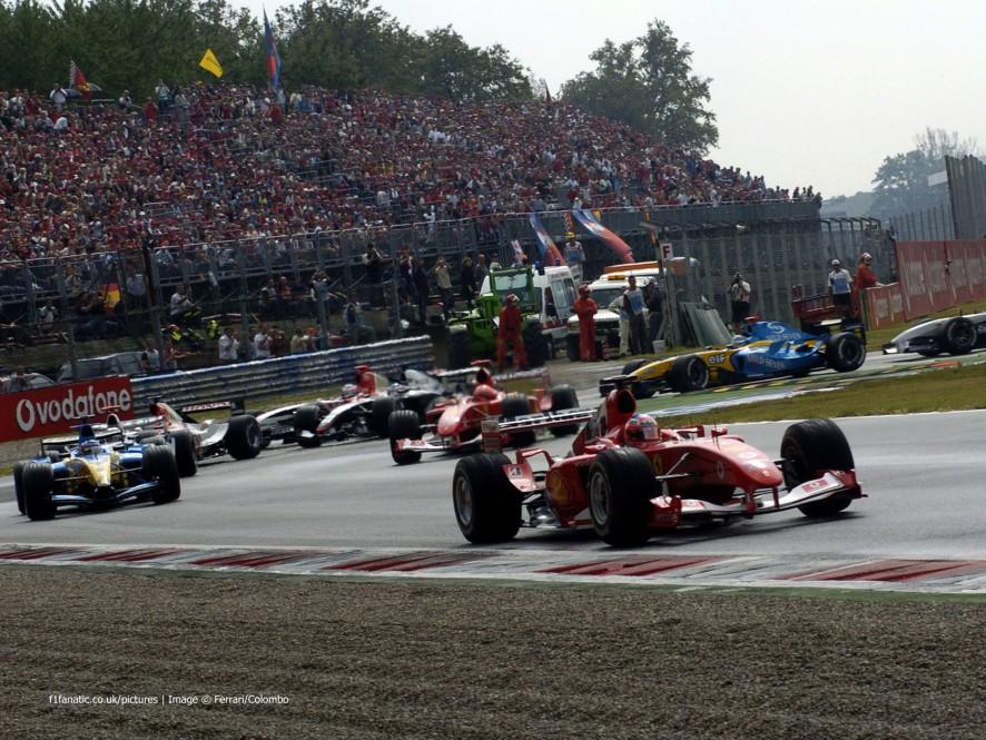 Start, Monza, 2004