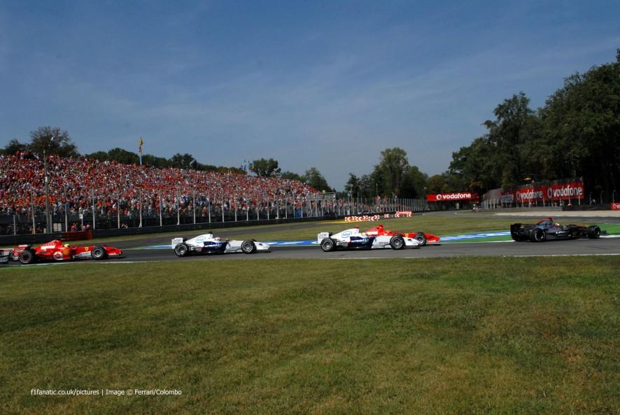 Start, Monza, 2006
