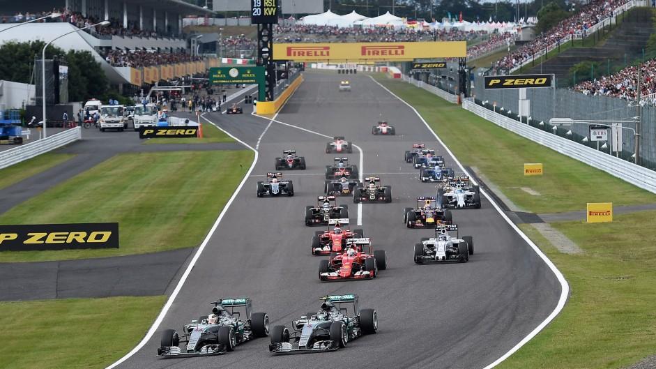 2016 Japanese Grand Prix TV Times