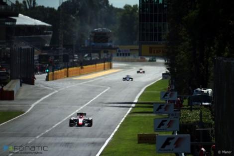 Will Stevens, Manor, Monza, 2015