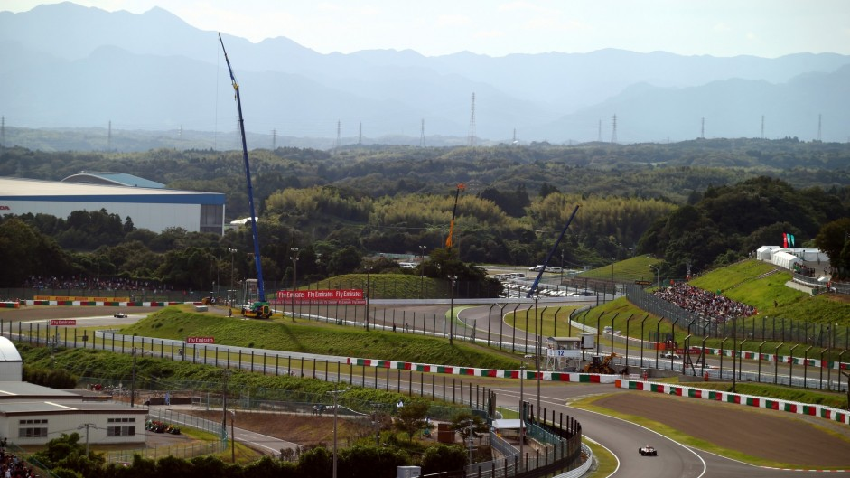 Drainage improved at corner where Bianchi crashed