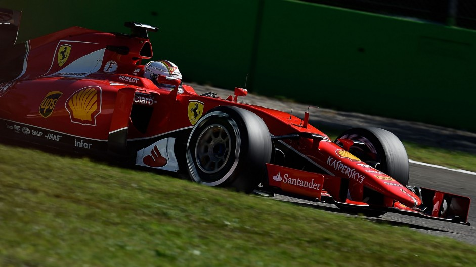 Vettel hails 'best second place' at Monza