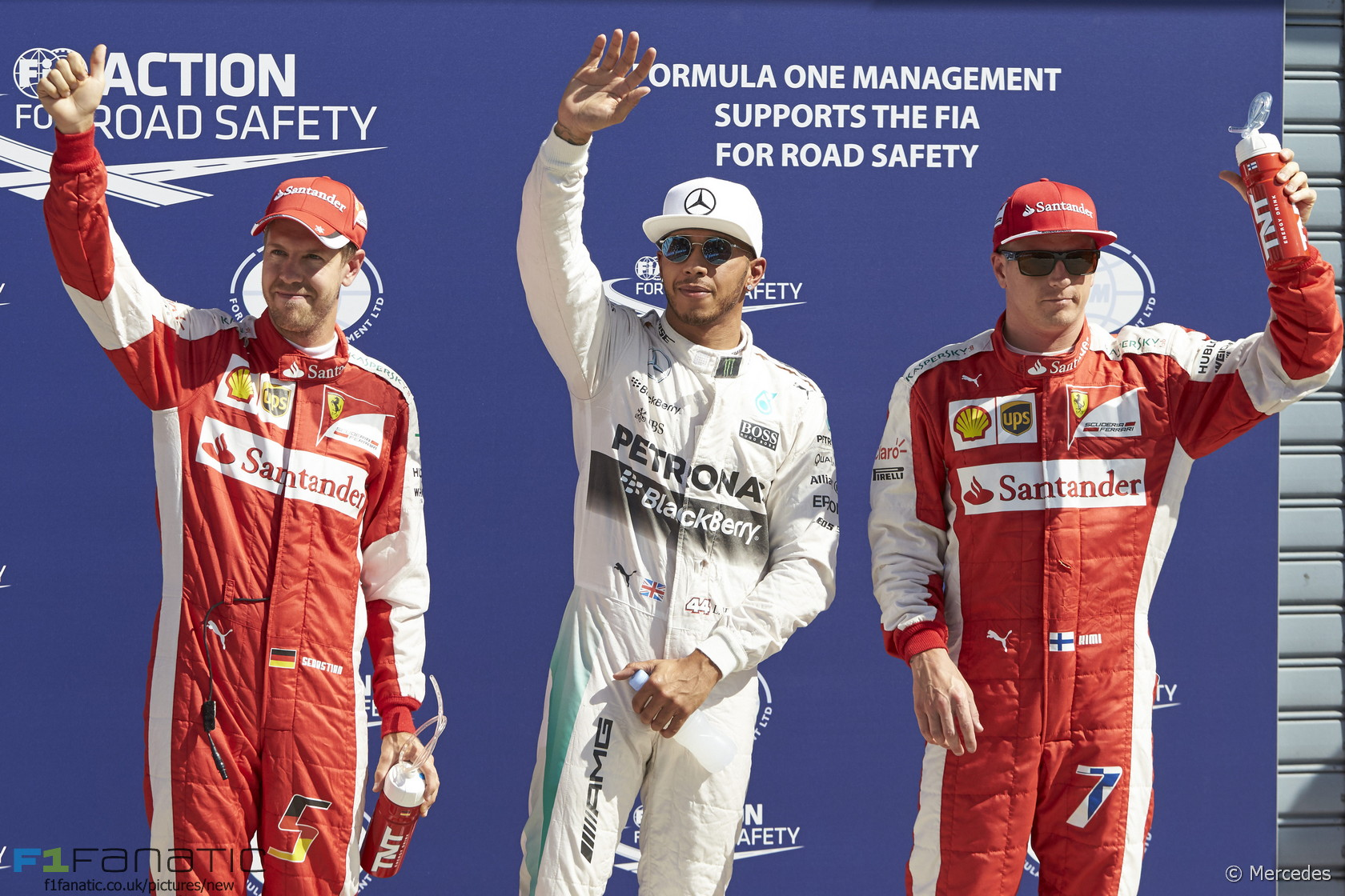 Sebastian Vettel, Lewis Hamilton, Kimi Raikkonen, Monza, 2015