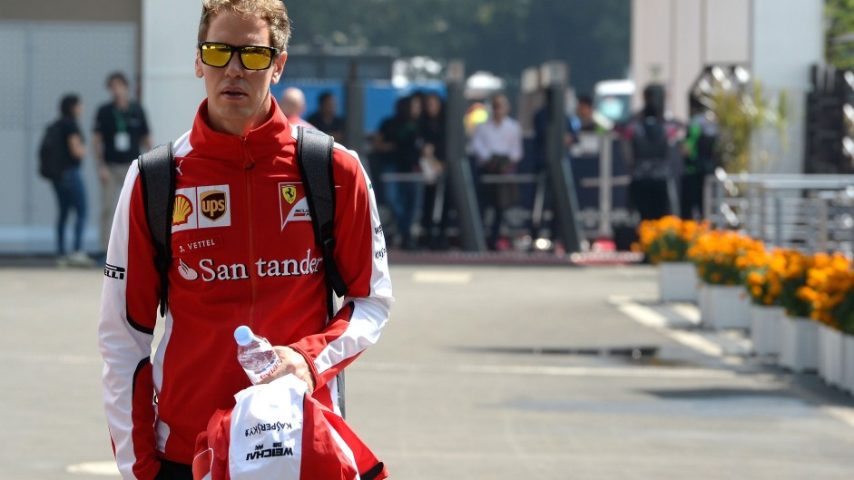 Sebastian Vettel, Ferrari, Autodromo Hermanos Rodriguez, 2015