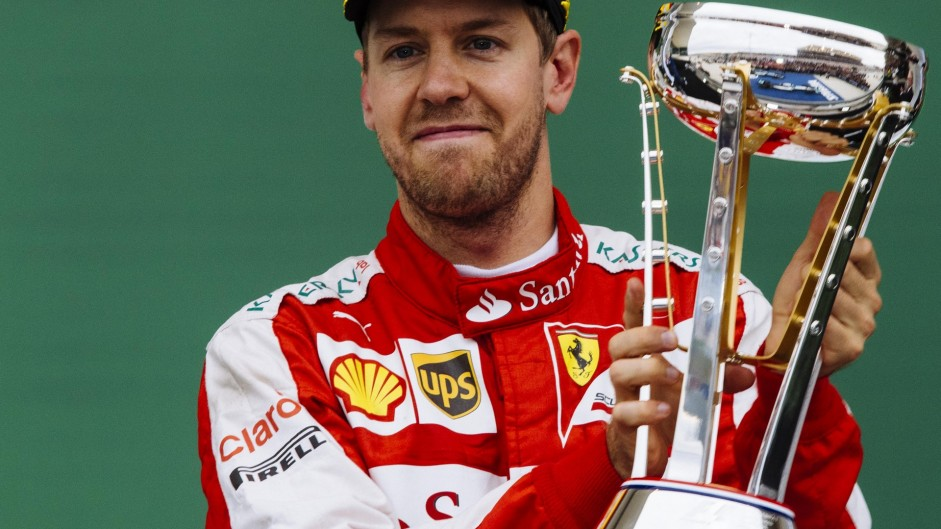 Vettel hails 'great recovery' after climb to third