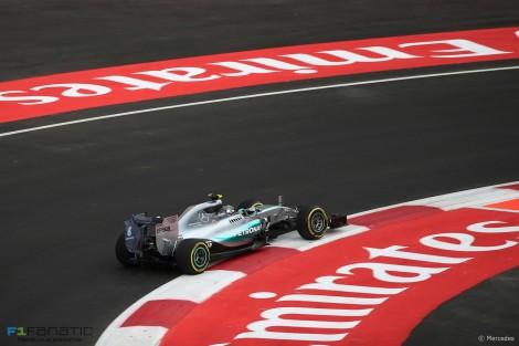 Nico Rosberg, Mercedes, Autodromo Hermanos Rodriguez, 2015