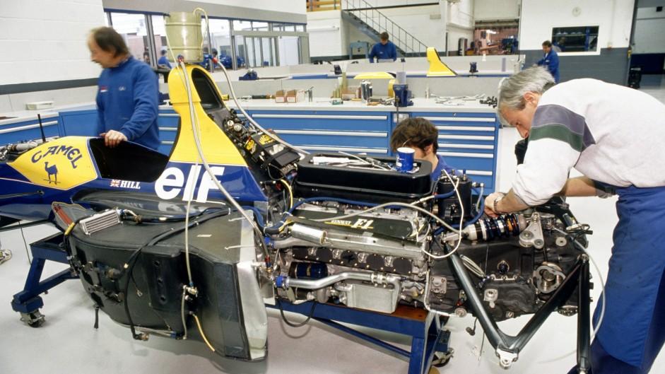 Williams-Renault FW15C, 1993